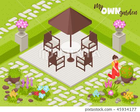 Landscape Design Background 45934177