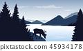 mountain, hill, buck 45934178