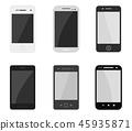 smartphone set 45935871