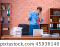 papers, businessman, busy 45936140