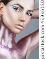 makeup, woman, eyeshadow 45936150