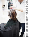 hair, hairs, hairdressing salon 45938995