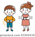 어린이 감기 컨디션 불량 45940439