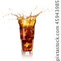 glass of cola 45943985