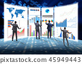 Concept of business charts and finance visualisation 45949443