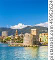 海 意大利 城堡 45952624