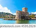 海 意大利 城堡 45952626