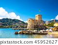 海 意大利 城堡 45952627