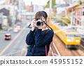 여자 여행 오노 미치 필름 카메라 45955152