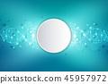 dna, helix, molecular 45957972
