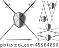 saber for fencing 45964890