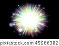 활기찬 자세한 폭발 플래시 근접 소재 질감 배경, 상위 뷰 (원활한 공동, 고해상도 3D CG 렌더링 / 그림 색) 45966382