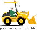 휠 로더 45966665