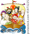 寶船和七個幸運的神 45973225