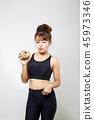 食物 食品 女人 45973346
