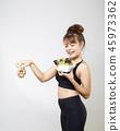 สลัด,อาหาร,หญิง 45973362