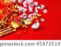 chinese new year 2019 background 45973519