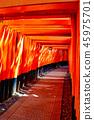 伏见稻荷神社Torii Torii 45975701