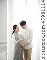 한국인, 행복, 미소 45981114