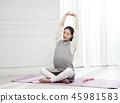 한국인, 여자, 미소 45981583
