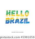 Hello Brazil - Welcome to Rio de Janeiro 45981656
