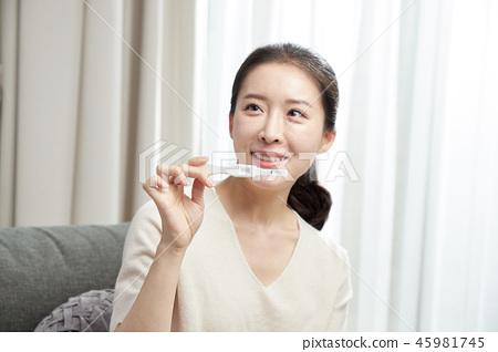 임산부의 하루 45981745