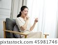 임산부의 하루 45981746