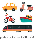vehicle collection vector design 45985556