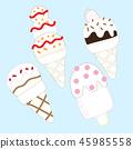 食物 食品 冰淇淋 45985558