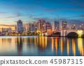West Palm Beach Florida Skyline 45987315