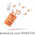 drug, capsule, medicine 45992230