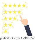 Customer review concept 45993657