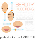 Beauty injections treatment 45993718