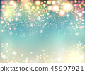 Abstract holiday christmas lights on background 45997921