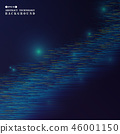 Abstract of sparkle futuristic technology gradient 46001150