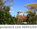 가을의 오사카 성 46003260