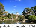 가을의 오사카 성 46003264