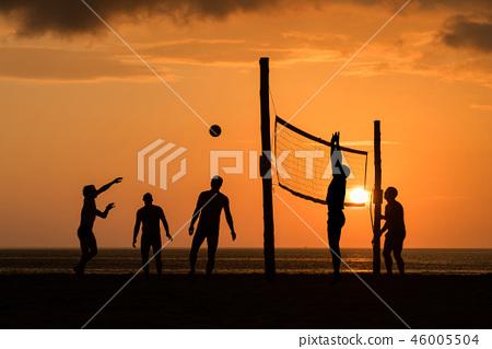 beach Volleyball 46005504