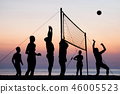 beach Volleyball 46005523