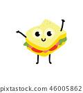 sandwich, food, vector 46005862