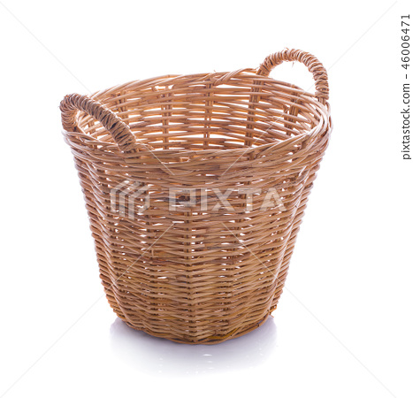 Basket isolated on white background 46006471