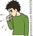 咳嗽 46007978