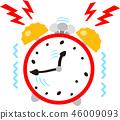 響鈴的瘋狂的鬧鐘 46009093