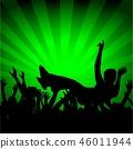 People Silhouette Dance 46011944