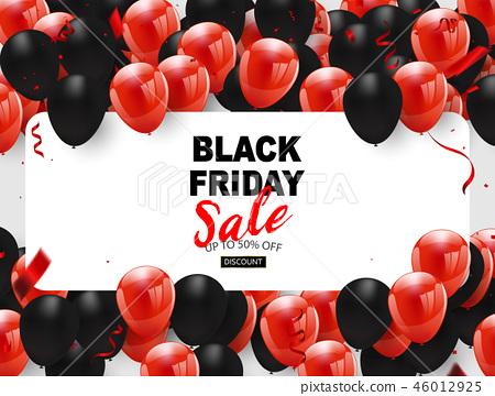 Black friday sale banner, 46012925