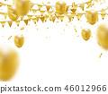 golden balloons 46012966