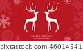 크리스마스, 성탄절, 인사 46014541