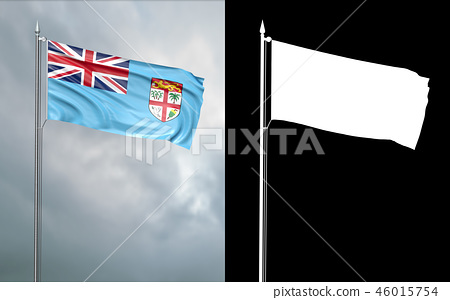 State flag of the Republic of Fiji  46015754