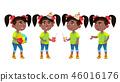 girl vector kid 46016176