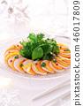 生牛肉片 沙拉 色拉 46017809